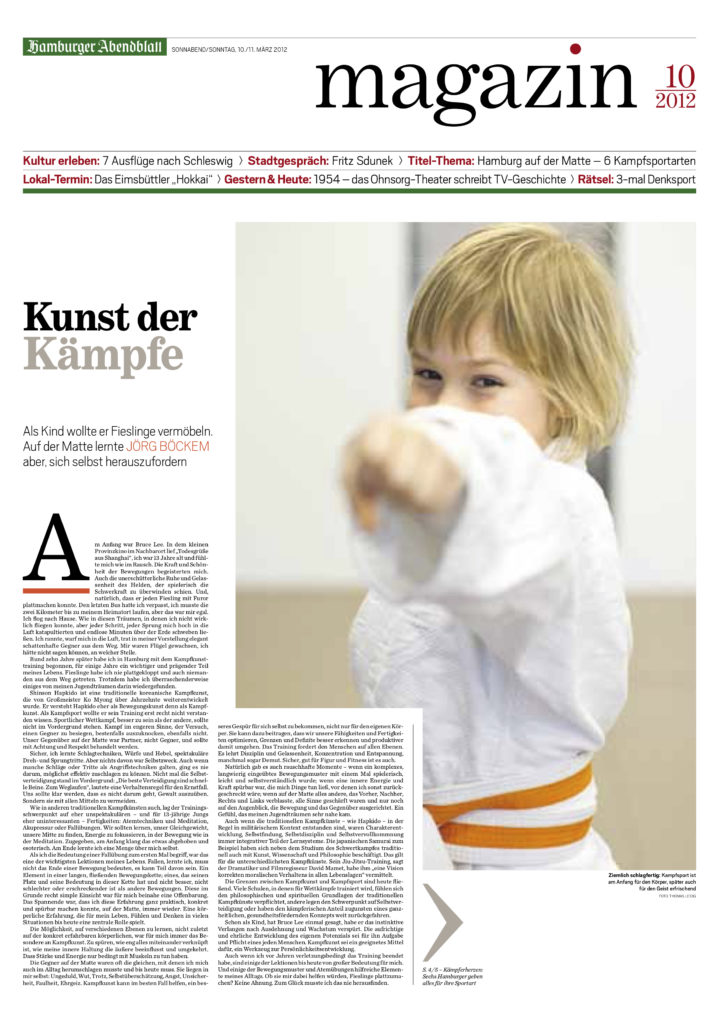 Hamburger Abendblatt Magazin (Wochenende)