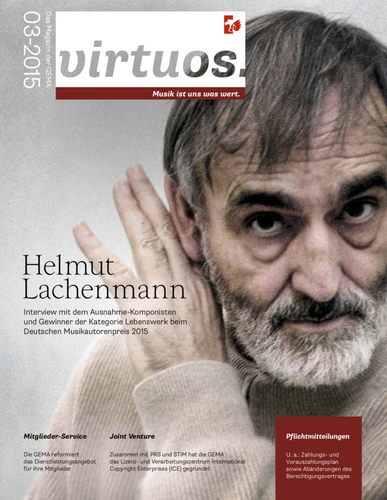 virtuos – Mitgliedermagazin der GEMA